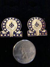 one of a kind Omega/Mason cufflink set