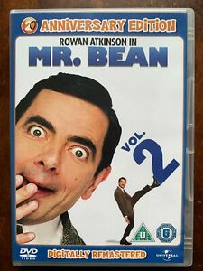 Mr Bean Vol.2 DVD Classic British TV Comedy Series w/ Rowan Atkinson Remastered
