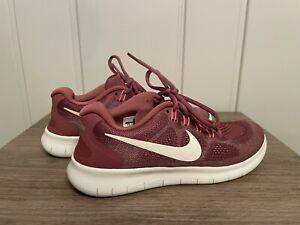 Nike Free RN 2018 Raspberry Running Training Shoes Size 7.5 Women's 880840-604