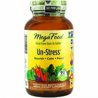 MegaFood - B-UnStressed, Multivitamin and Herbal Support for Mental Calm, Immu..