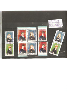 TIMBRES OBLITERES X 10 ANNEE 2007 ISSUS DU BLOC HARRY POTTER BC 4024 A