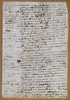 Antico documento non datato