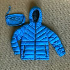 16,Grey bossini Winter Selection Boys Kids Unisex Heather Thermal Heat Plus Down Jacket Size 4t