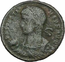 CONSTANS Constantine the Great son AE2 Ancient Roman Coin Child Barbarian i41203