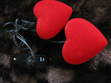 2 x LED 12V Intérieur Lumières Décoratif Coeur Romance Valentine auto voiture caravane