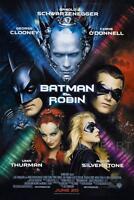BATMAN AND ROBIN MOVIE POSTER FILM A4 A3 ART PRINT CINEMA