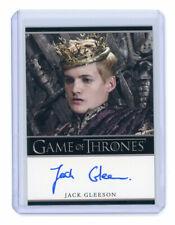 Game of Thrones Season 2 Jack Gleeson as King Joffrey Baratheon Auto Autograph