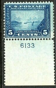 [DZ]  US #399 Mint-LH 1913 , Perf 12, 'Panama-Pacific' Exposition Issue..