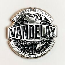 VANDELAY INDUSTRIES Enamel Pin seinfeld kramer george costanza larry david