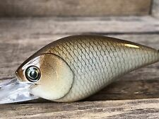 Xmarks Custom Painted Crankbait 2.5 DD RT Natural Golden Shiner