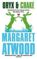 NEW Oryx and Crake By Margaret Atwood Paperback Free Shipping