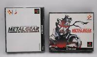 PlayStation 1 Metal Gear Solid & Integral 2Games set Kojima PS1 Konami Japan PS1