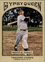 2011 Topps Gypsy Queen Baseball #89 Mickey Mantle