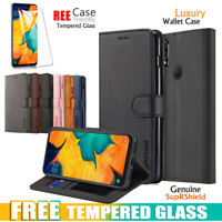 For Samsung Galaxy A20 A30 A50 A70 A71 A90 5G Wallet Leather Case Flip Cover
