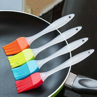 1/5x Silicone Baking Oil Cream Basting Brush Bread Cook Pastry BBQ Kitchen Tool