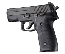 Sig Sauer P228, P229 and M11-A1 Rubber Panel Grip Black Hogue 28010