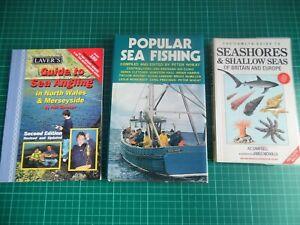 3 BOOKS FOR SEA ANGLERS POPULAR SEA FISHING FISHING GREAT CONTRIBUTORS