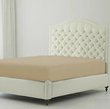 Taupe Solid 4 pcs Sheet Set 1000 Thread Count Egyptian Cotton King Size