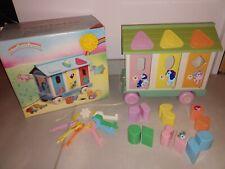 Jouet d'éveil preschool toy my little pony trailer petit poney roulotte kleines