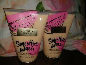 ~*Victoria's Secret TWIST OF WATERMELON Smoothie Wash lot of 2!!~ 6 fl.oz*~