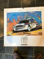 Martini racing kalender calendrier calendar 1993 not new