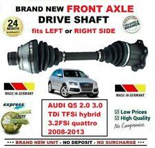 FOR AUDI Q5 2.0 3.0 TDi TFSi 3.2FSi quattro 2008-2013 NEW FRONT AXLE DRIVESHAFT