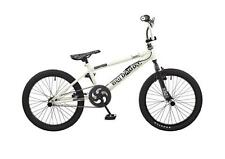 "Rooster Big Daddy Kids Freestyle 20"" Wheel BMX Bike Gyro Stunt Pegs White RS120"