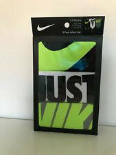 Nike Baby Set 3-teilig | Neu | 0-6 Monate | 3x Body Infant Set