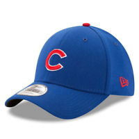 Chicago Cubs New Era MLB Team 39THIRTY Curve Hat - Blue