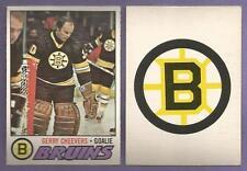 1977-78 OPC O-PEE-CHEE Boston Bruins Team Set