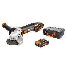 Amoladora angular a Batería Worx Wx800 20V 2ah