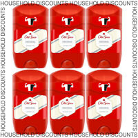 6 x Old Spice Original Deodorant Roll On Stick Mens Fresh Odour Smell Clean 50ml