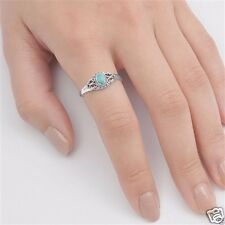 USA Seller Turquoise Ring Sterling Silver 925 Best Price Jewelry Selectable