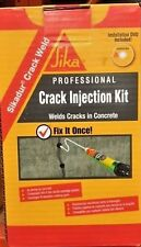 professional Sika Crack Weld Kit / injection kit