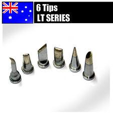 6PCs Solder Soldering Station Iron Tips LT LeadFree FOR Weller WSP80 WSD80 WSD81