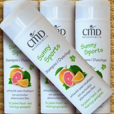 CMD Sunny Sports SHAMPOO Docciaschiuma pompelmo 200ml capelli vegan Naturkosmetik bio