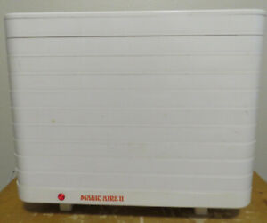 Magic Aire II Dehydrator Machine Electric Food Preserver W/ Fruit Leather Sheets
