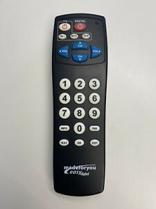 TELECOMANDO TV UNIVERSALE MADEFORYOU MADE FOR YOU EASY DIGITAL COME NUOVO !!