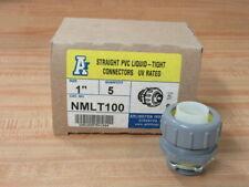 "Arlington NMLT100 1"" Connector (Pack of 5)"