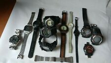CASIO WATCH LOT OF 12 / VINTAGE G-SHOCK AND MORE