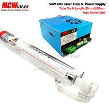 50w Laser Engraver CO2 Tubo (85 mm) + Alimentatore per LASER ENGRAVER CUTTER CO2