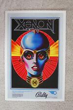 Xenon Pinball promotional poster