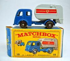 "Matchbox RW 15C Refuse Truck  rare Variante neuwertig mit ""E2"" Box"