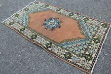 """Vintage Handmade Turkish Oushak Area Rug 59""""x33"""""""