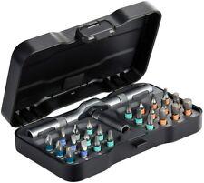 """Magnetic Ratcheting Screwdriver Bit Set, HOMFUL 25 PCs 1/4"""" Mini Screwdriver Kit"""