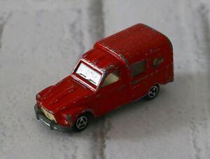 Majorette Made in France Citroen Acadiane n°235 RARE Red Color Version