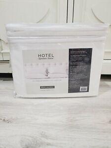 Hotel Signature Sateen 800 TC 100% Cotton Split Cal King 7 Pc. Sheet Set White
