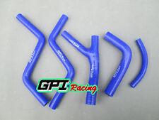 Honda CR250 CR 250 1985 1986 1987 85 86 87 silicone radiator BLUE hose