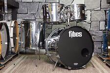 Fibes 4pc Drum Shell Pack -Metal Over Fiberglass