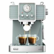 Cecotec Power Espresso 20 Tradizionale Cafetera Express para Espressos y Cappuccinos con Vaporizador Orientable - Gris